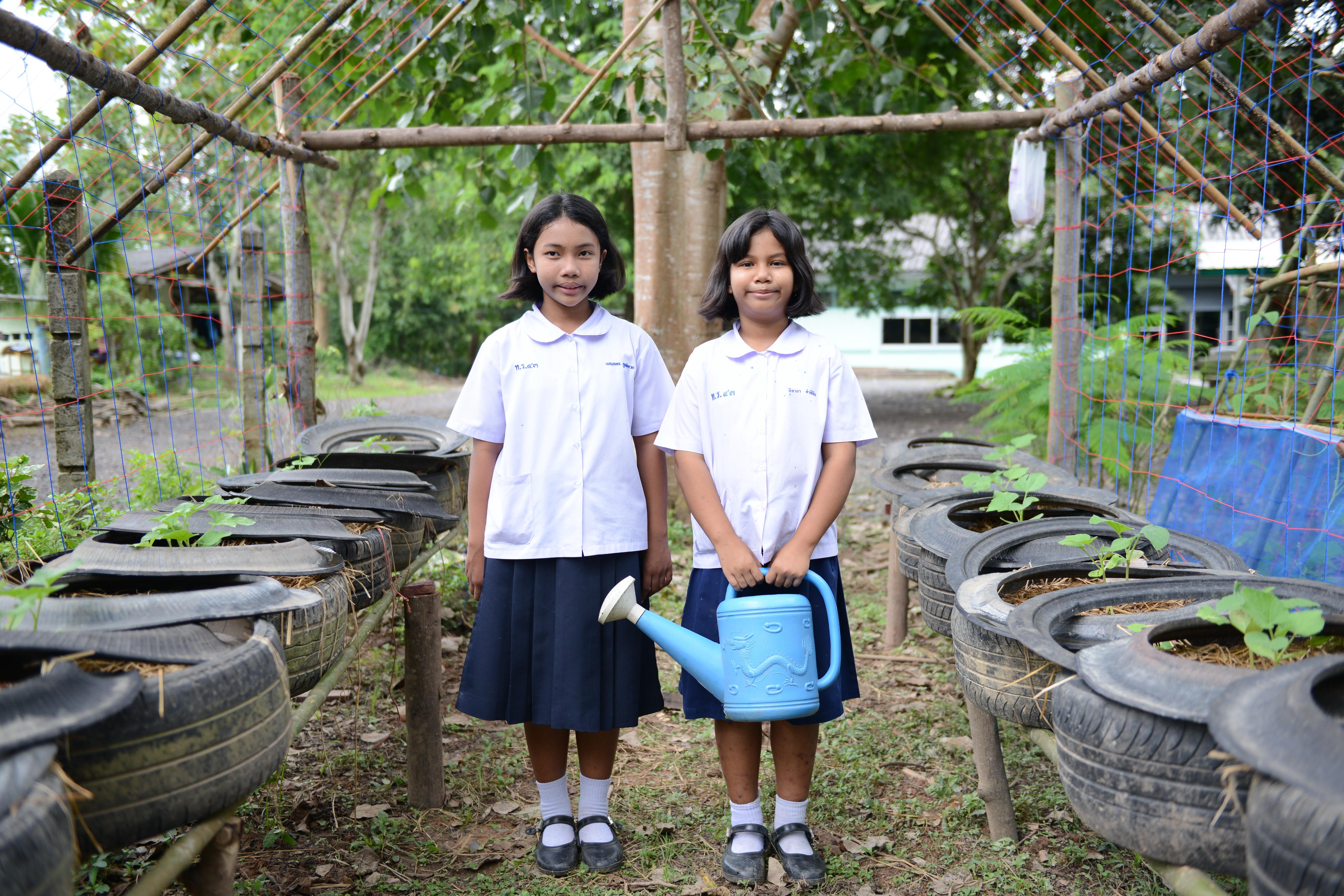 น้องๆโรงเรียนไทยรัฐวิทยา