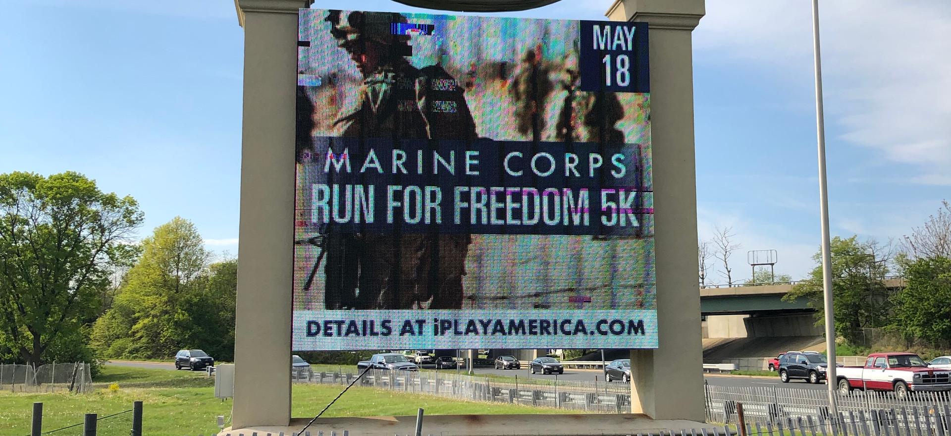 iPlay Billboard 2019 Run for Freedom