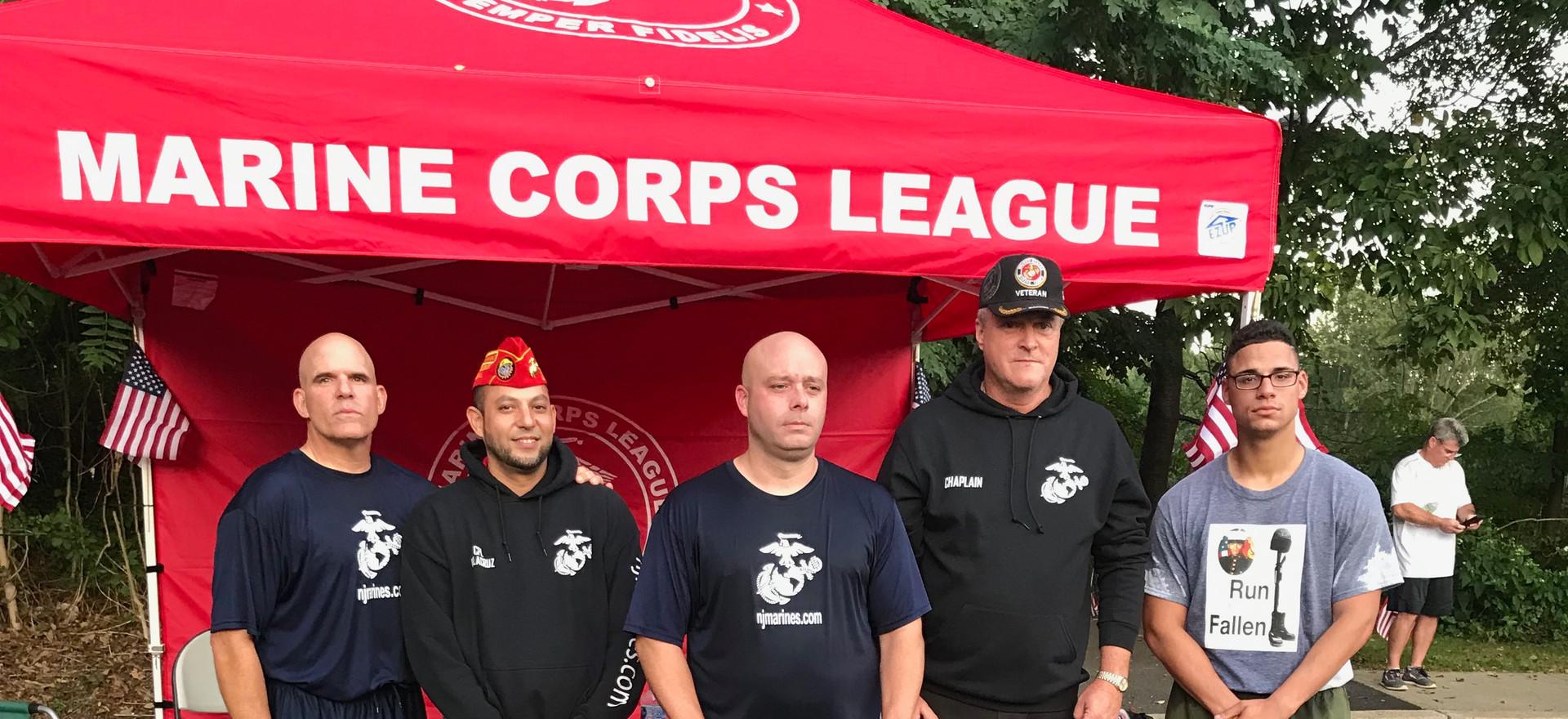 Marines Macnamara and Hamilton