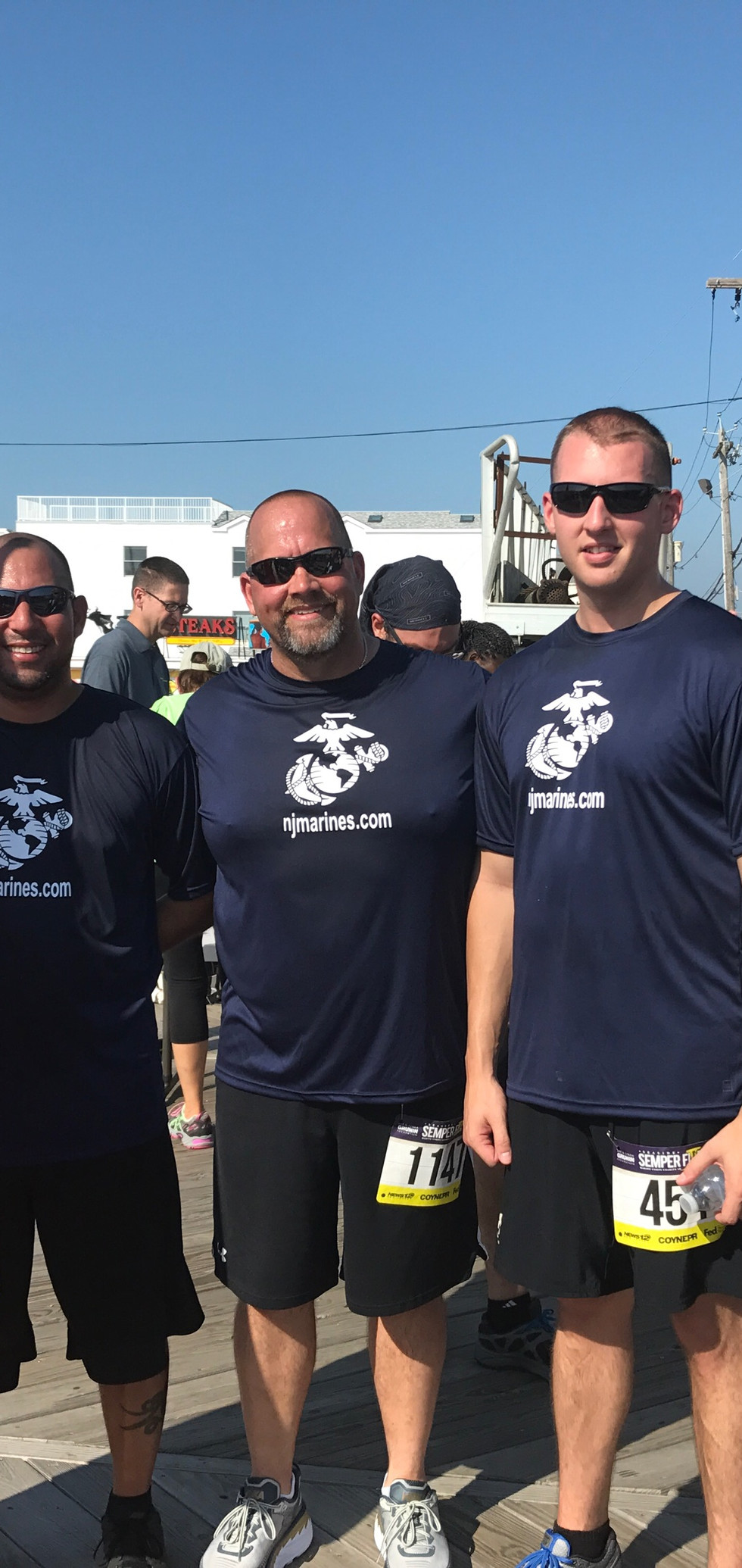 Reynolds runners at 2017 Semper 5