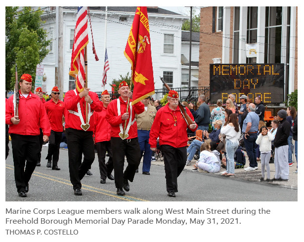 2021 Memorial Day Parade Freehold