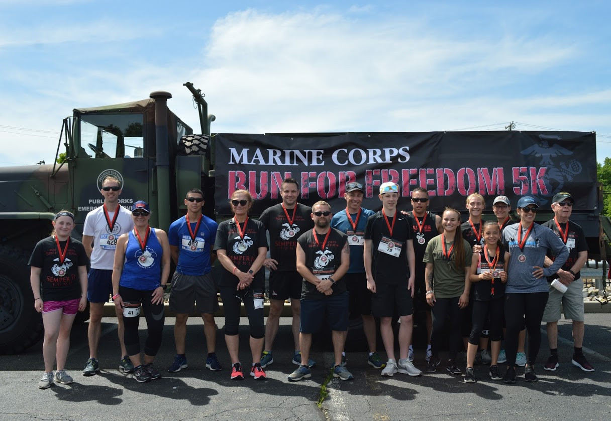 Award winners 2019 Marine Corps Run For Freedom