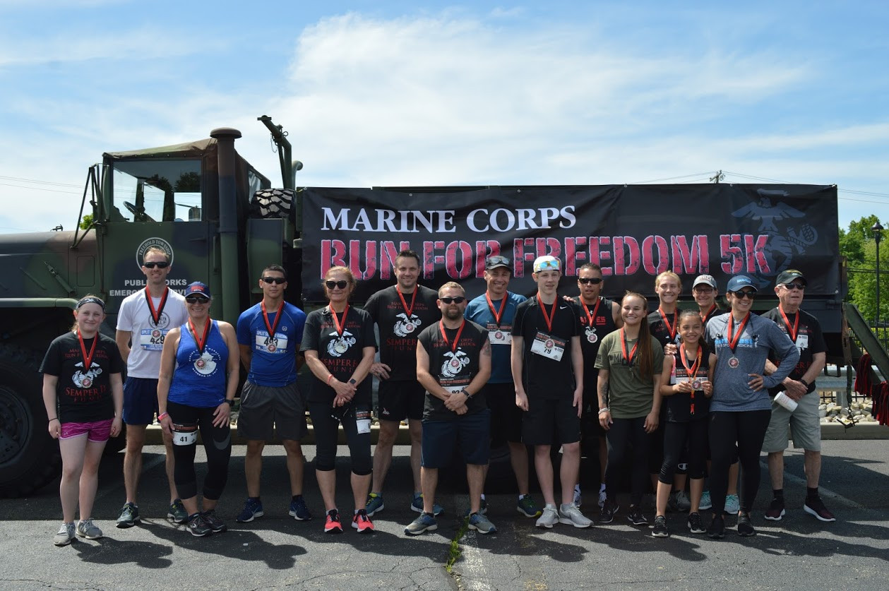 Award winners 2019 Marine Corps Run For Freedom