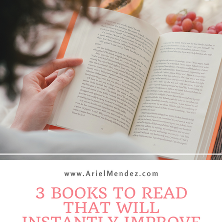 3 Books To Read That Will Instantly Improve Your Writing
