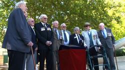 Attending 2/16th Battalion Veterans