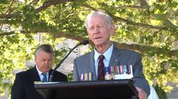 Bill Grayden giving the Ode