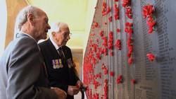 Veterans Bill Grayden and Keith Norrish
