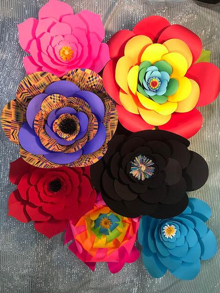 Flowers for Freedom Flower Cluster