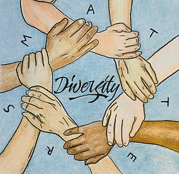 Diversity Matters Logo by STAR Student Samantha