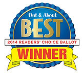 Out & About Best 2014 Readers' Choice Ballot Winner