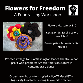 Flowers for Freedom Flyer