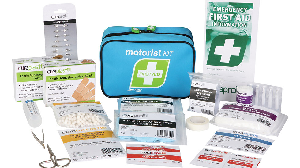 Home or Car First Aid Kit