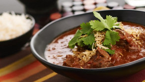 Slow cooked Indian Madras Wallaby Curry