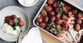 BBQd Wallaby Meatballs