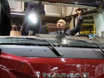 Уральская разработка «IRWAY система ночного видения» была представлена Владимиру Путину