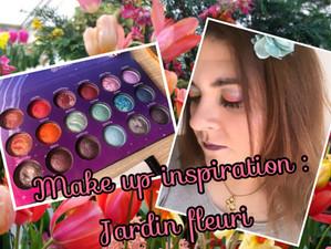 Make Up : Inspiration jardin fleuri ^^