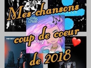 Ma playlist 2018 !!