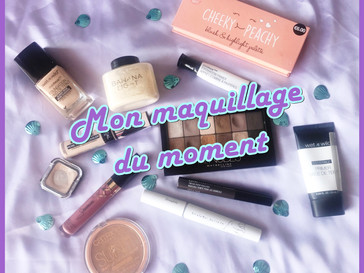 Mon Make up du moment ^^