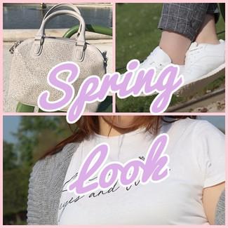 Look décontracté pour le printemps ^^