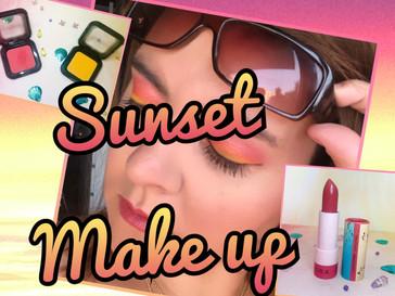 Make Up : Coucher de soleil
