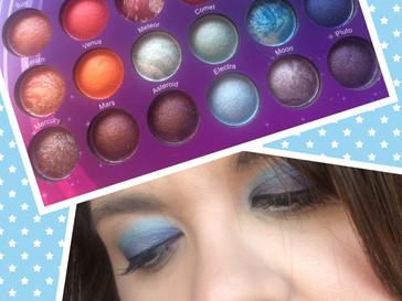 Tuto : Make up bleu stellaire