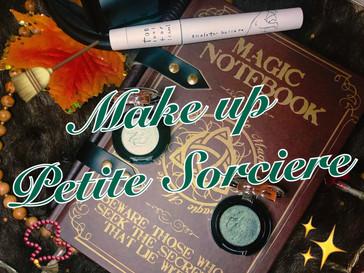 Make Up d'Halloween : La Petite Sorcière