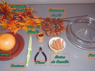DIY : Pot-pourri de l'automne