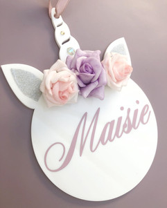 Flower Girl Name Tags