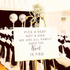 A3 Coloured Acrylic Pick a Seat