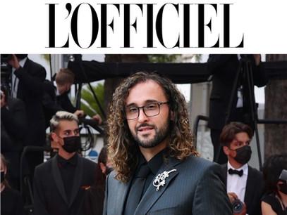 Festival de Cannes 2021 : Nereides de Bourbon, prince incontesté du tapis rouge