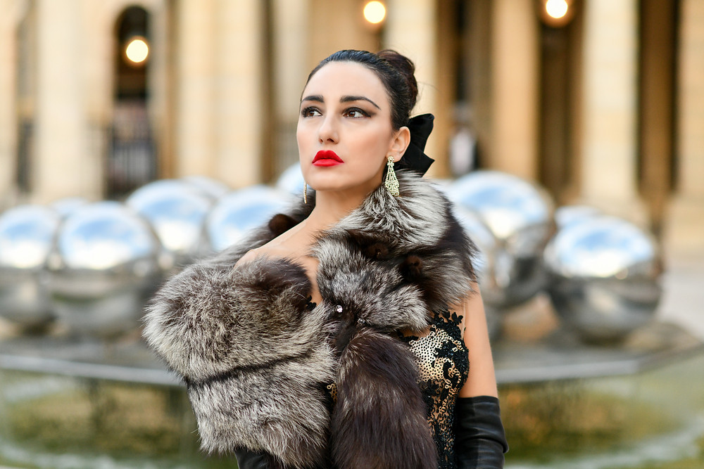 Super Model Lilly Mandel for Nereides Haute Couture Paris - Photo by ® Lello Ammirati