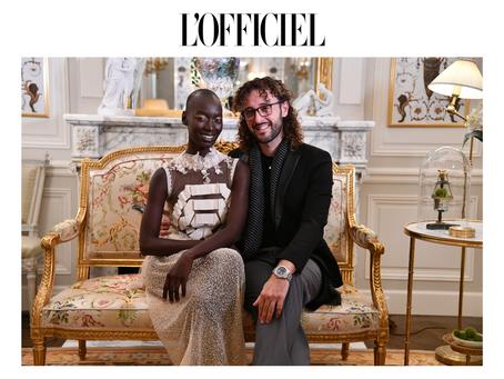 Super Model Mame Anta is the New Face of NEREIDES Haute Couture Paris