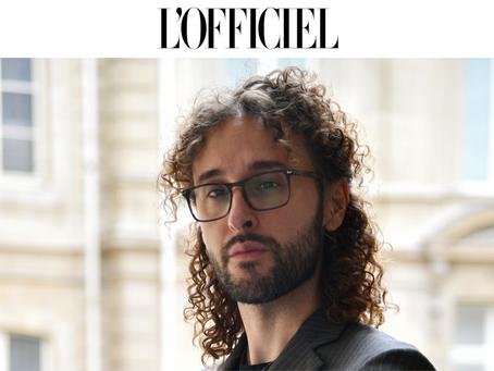 L'OFFICIEL Paris: Rencontre avec Nereides Antonio Giamundo de Bourbon, le « Prince Artiste »