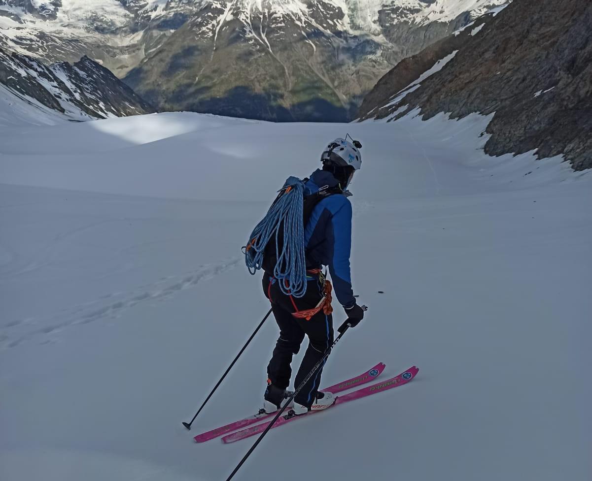 Skitour Dom, 4.545m