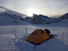 Skitourentage in den Berner Alpen