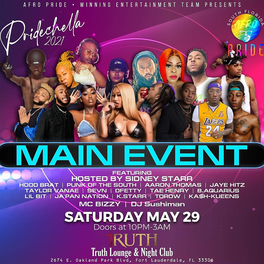 The Main Event at Truth Night Club