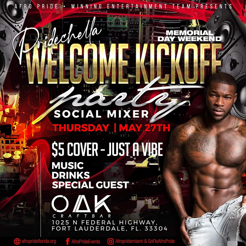 Welcome Kickoff Party & Social Mixer