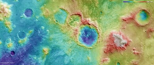 Topography_of_a_cratered_region_on_Mars.