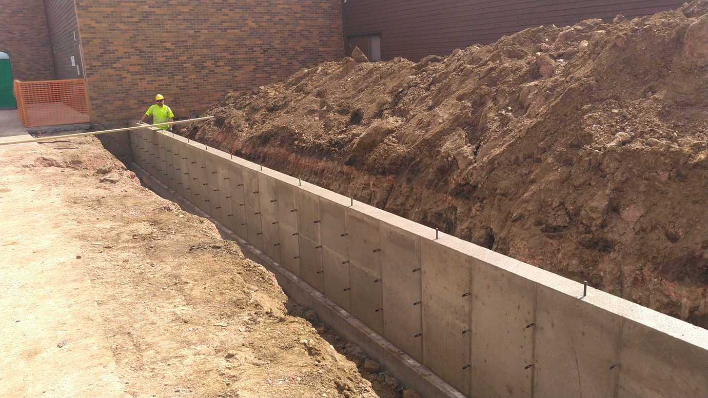 Custer Library Addition Foundation
