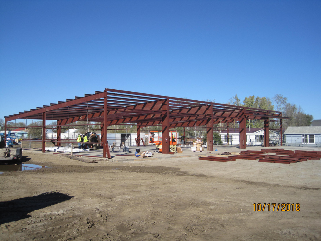 Frame for Four Bands Business Incubator