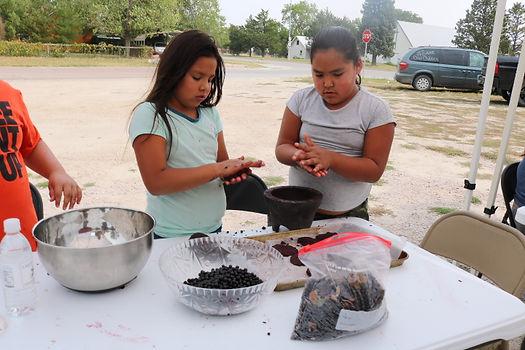 girls making patties.JPG