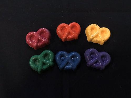 Rainbow Color Crayons Medium