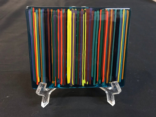 Rainbow Glass tile