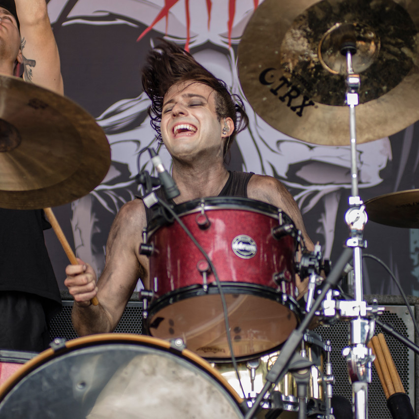Lauren Hedges Photography Warped Tour 2017 New Years Day
