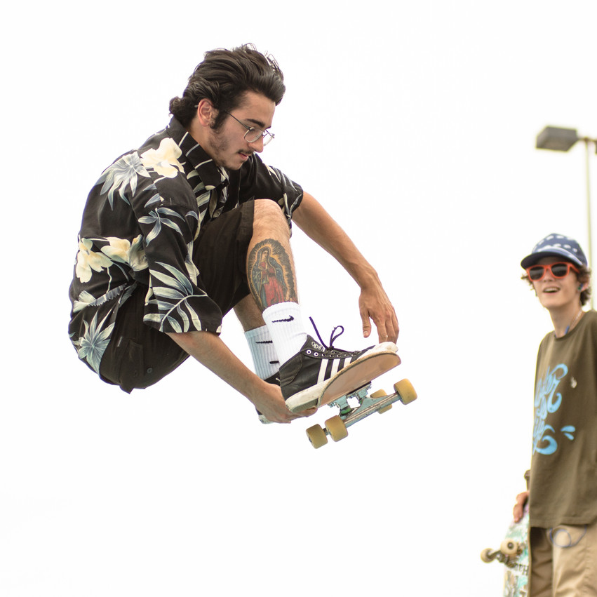 Lauren Hedges Photography Warped Tour Skateboarder