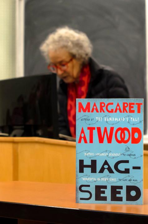 Lauren Hedges Photography - Margaret Atwood - University of Windsor - 2017