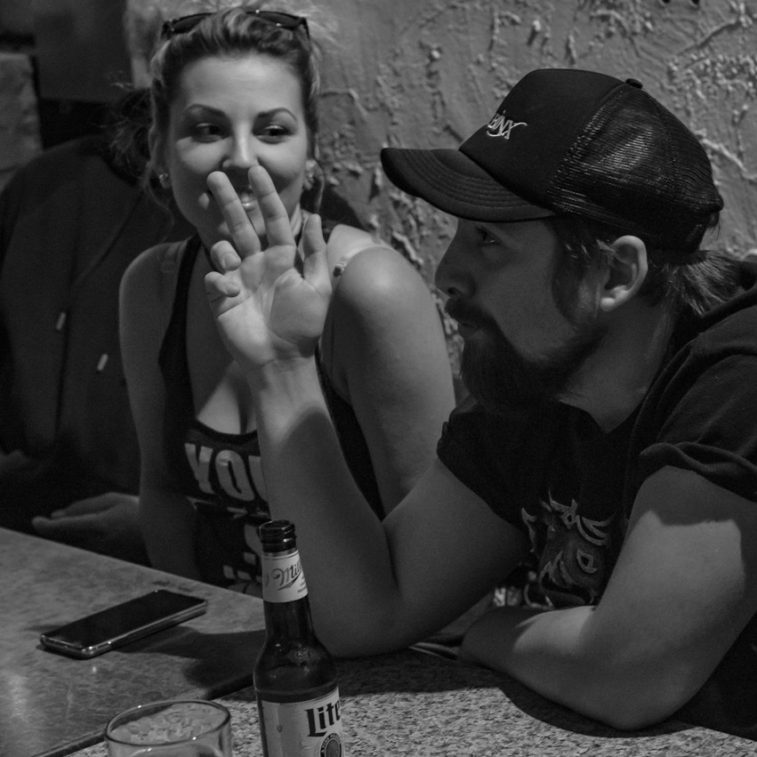 Lauren Hedges Photography EBX Metal Babe Mayhem Rainbow Lounge Interview