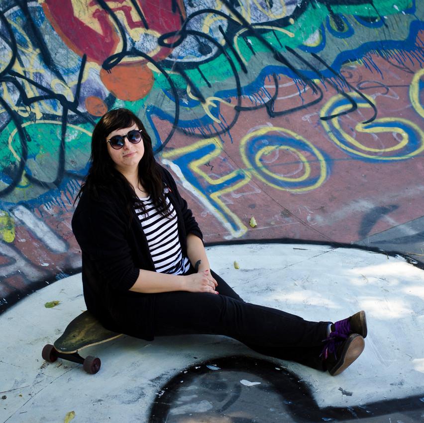 Detroit Skateboard Photography Ride It Sculpture Park