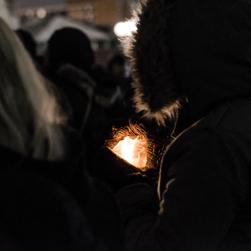Windsor Vigil for Quebec City