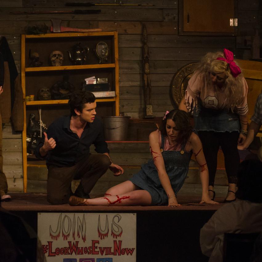 Lauren Hedges Photography Evil Dead The Musical Korda Productions